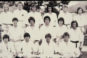 churchie dojo competition team 1974