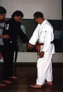 prof wally jay seminar at john akii priv goju karate dojo oahu