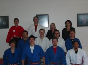 sensei and sempai group photo stafford dojo