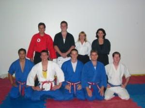 sensei beaux leeson nidan sakura hana ryu ju jitsu grading stafford dojo nov 2004