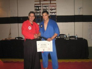 sensei odell harris shodan sakura hana ryu ju jitsu grading 7 oct 2006