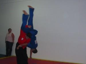 wil tritton blue cherry blossom 4th kyu grading throw sakura hana ryu ju jitsu stafford dojo